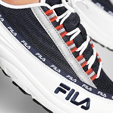 Fila - Baskets DSTR97 1010570 01C White Fila Navy