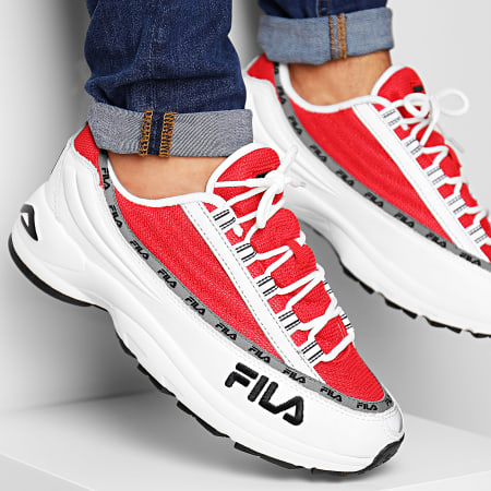Fila - Baskets DSTR97 1010570 02A White Fila Red