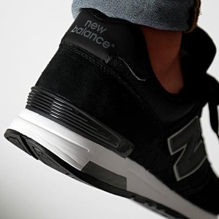 New Balance - Baskets Classics 565 742401-60 Black Silver