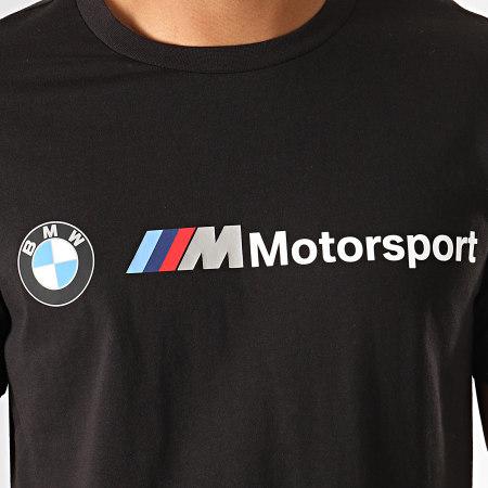 Puma - Tee Shirt BMW Motorsport Logo 595369 Noir