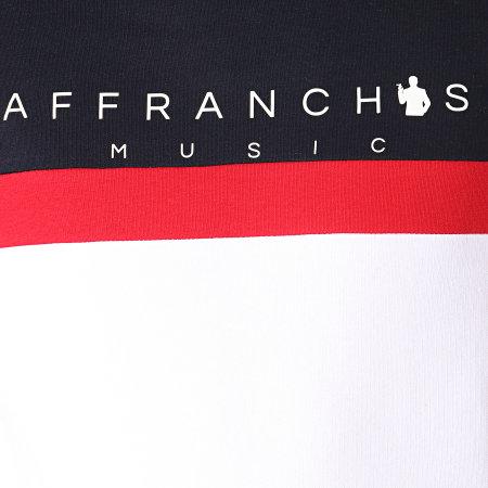 Sofiane - Sweat Capuche Affranchis Music Tricolore Bleu Marine Blanc Rouge