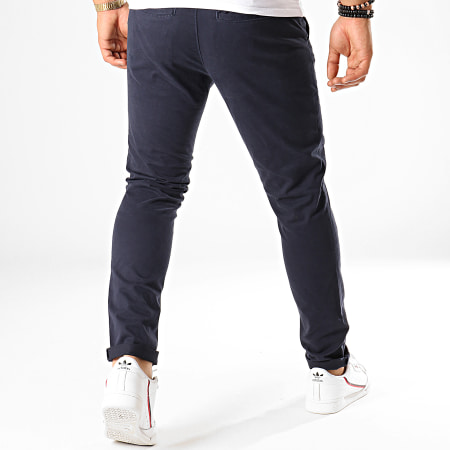 Tom Tailor - Pantalon Chino Slim 1008253 Bleu Marine