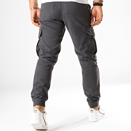 Tom Tailor - Jogger Pant Cargo 1012739 Gris Anthracite