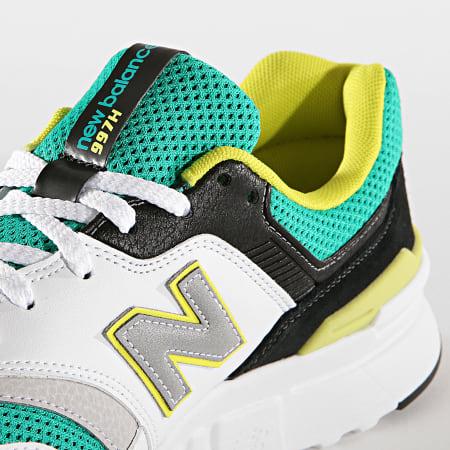 New Balance - Baskets Classics 997 738141-60 Green White Black