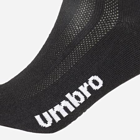 Umbro - Lot De 3 Paires De Chaussettes Invisibles 527460-60 Noir