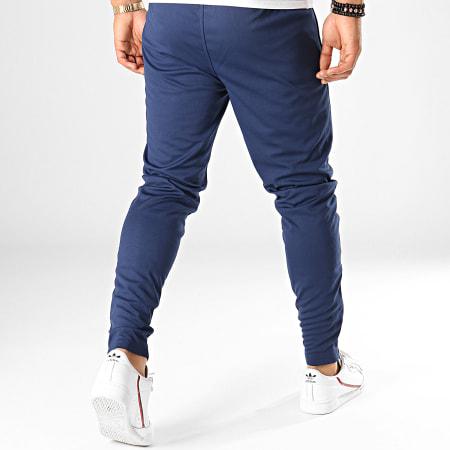 Umbro - Pantalon Jogging Print Core 647780-60 Bleu Marine Blanc