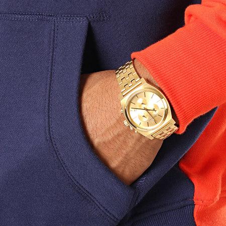 Ellesse - Sweat Capuche 1032N Gustave Orange Blanc Bleu Marine
