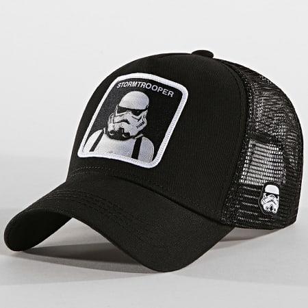 Star Wars - Casquette Trucker Stormtrooper Noir