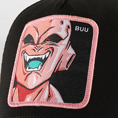 Dragon Ball Z - Casquette Trucker Buu Noir Rose