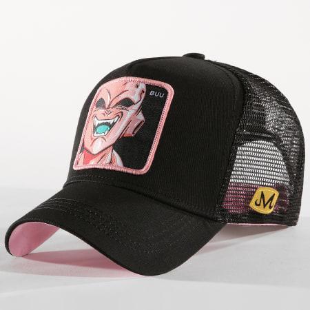 Dragon Ball Z - Casquette Trucker Buu Noir Rose