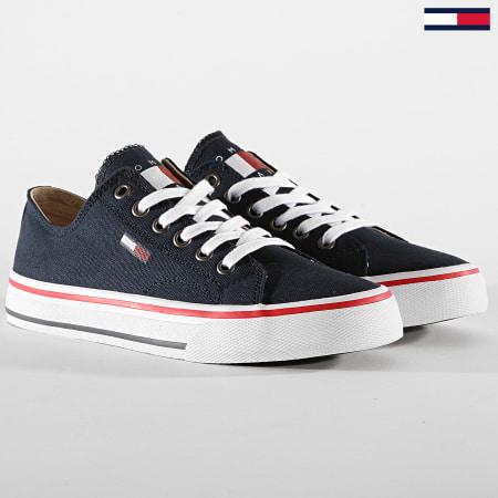 Tommy Hilfiger Jeans - Baskets Femme Low Cut TJ Sneaker EN0EN00681 White