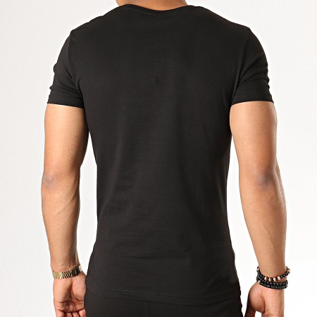 John H - Ensemble Tee Shirt Short ESH06-ES06 Noir
