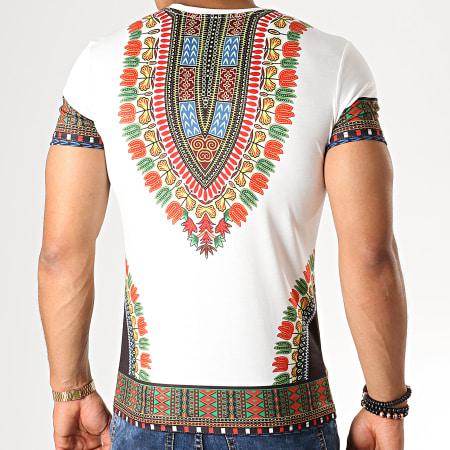 John H - Tee Shirt A081 Blanc