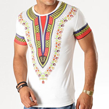 John H - Tee Shirt A075 Blanc