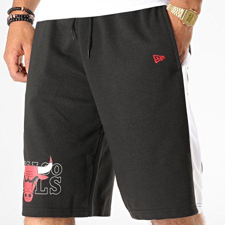 New Era - Short Jogging A Bandes NBA Graphic Overlap Chicago Bulls 12033461 Noir