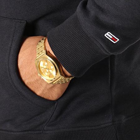 Tommy Hilfiger Jeans - Sweat Capuche Straight Logo 7030 Noir
