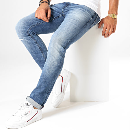 Tommy Hilfiger Jeans - Jean Slim Scanton 6880 Bleu Denim
