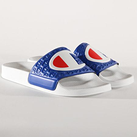 Champion - Claquettes M-Evo S20979 White Royal Blue
