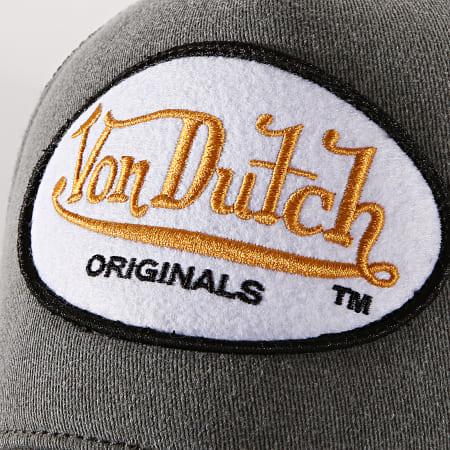 Von Dutch - Casquette Trucker OG Jeans Gris