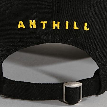 Anthill - Casquette Logo Noir Jaune