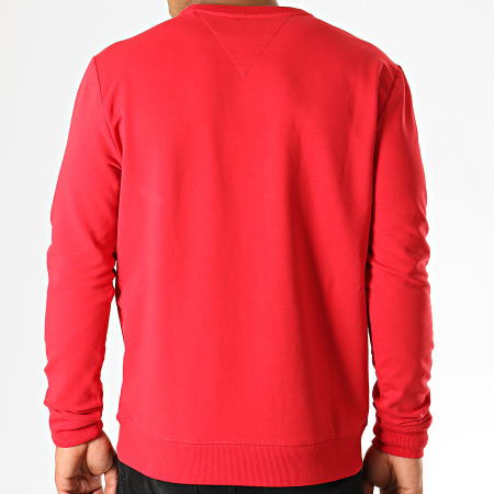 Guess - Sweat Crewneck M94Q24-K7ON0 Rouge Blanc