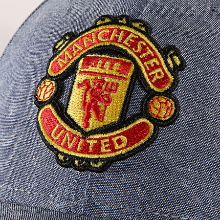 New Era - Casquette 9Forty 12040492 Manchester United Bleu Denim