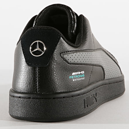 Puma - Baskets Smash V2 AMG Petronas 306451 Black Smoked Pearl Spectral Green