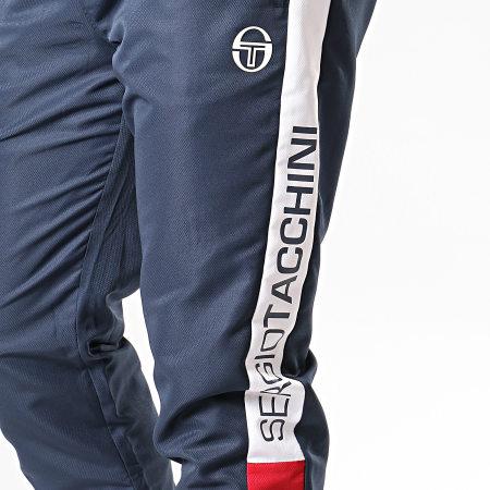 Sergio Tacchini - Pantalon De Jogging Deane 38290 Bleu Marine Blanc Rouge