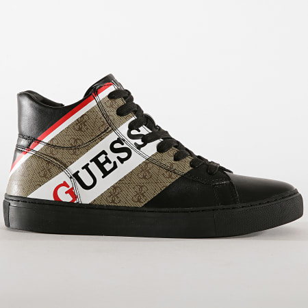 Guess - Baskets FM8LRRFAL12 Brown Beige