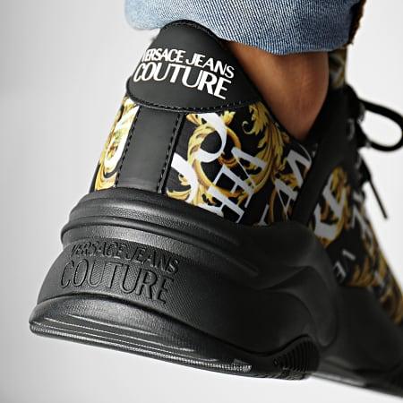Versace Jeans Couture - Baskets Linea Fondo Extreme Dis 8 E0YUBSI8-71197 Noir Renaissance