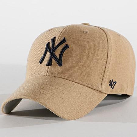 '47 Brand - Casquette New York Yankees MVP MVP17WBV Ecru