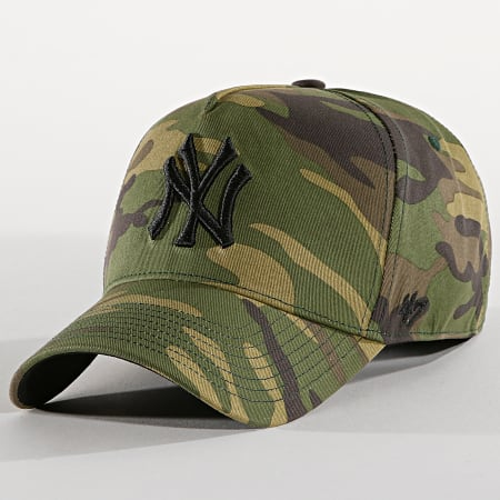 '47 Brand - Casquette New York Yankees MVP GRVSP17CNP Camouflage Vert Kaki
