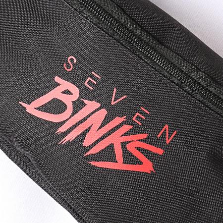 7 Binks - Sacoche Banane Logo Noir Rouge