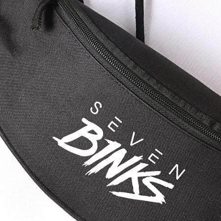 7 Binks - Sacoche Banane Logo Noir Blanc