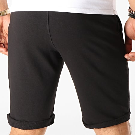 7 Binks - Short Jogging Logo Noir Blanc