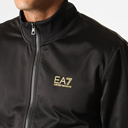 EA7 - Ensemble De Survêtement 6GPV71-PJ08Z Noir Doré
