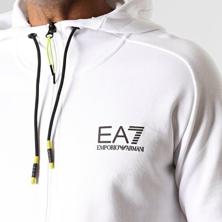 EA7 - Ensemble De Survêtement 6GPV67-PJJ5Z Blanc Noir