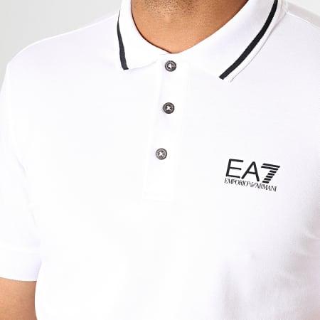 EA7 - Polo Manches Courtes 8NPF06-PJ04Z Blanc