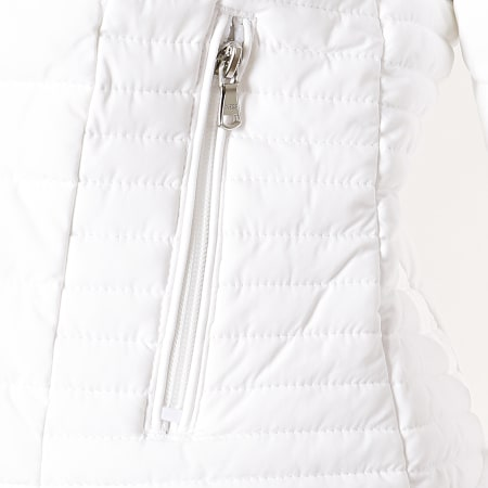 Guess - Veste Zippée Femme W94L0S-W6NW0 Blanc
