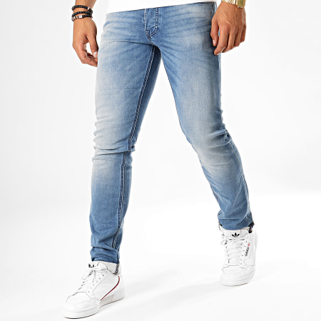 Jack And Jones - Jean Slim Glenn Bleu Denim