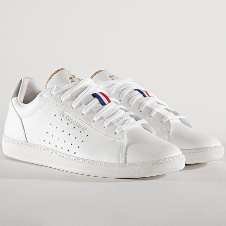 Le Coq Sportif - Baskets Courtstar Denim 1920103 Optical White Grey Denim
