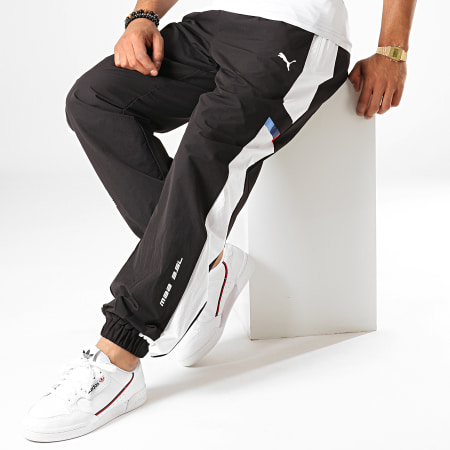 Puma - Pantalon Jogging A Bandes BMW Motorsport Street 595465 Noir