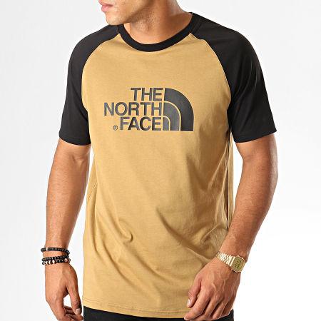 The North Face - Tee Shirt Raglan Easy 37FV Camel