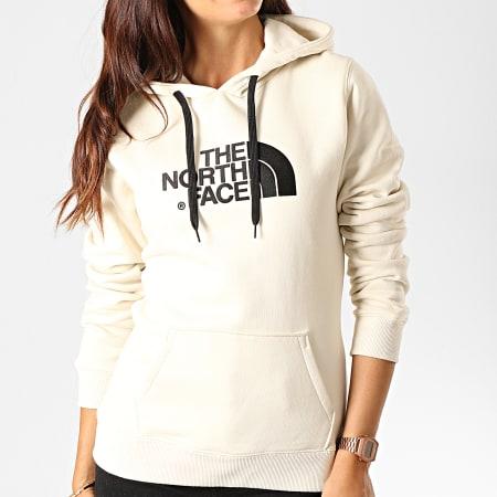 The North Face - Sweat Capuche Femme Drew Peak A8MU Ecru