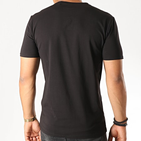 Guess - Tee Shirt M94I46-J1300 Noir Rouge