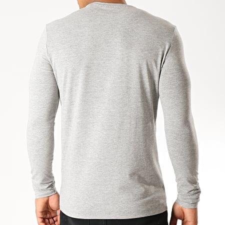 Guess - Tee Shirt Manches Longues M94I34-J1300 Gris Chiné