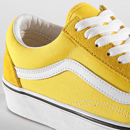 Vans - Baskets Old Skool A4BV5FSX1 Vibrant Yellow True White