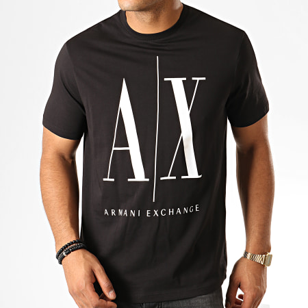 Armani Exchange - Tee Shirt 8NZTPA-ZJH4Z Noir