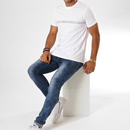 Armani Exchange - Tee Shirt 8NZT87-Z8H4Z Blanc