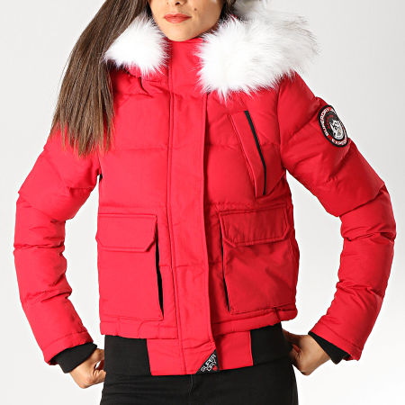Superdry Doudoune Fourrure Femme Everest Ella W5000018A